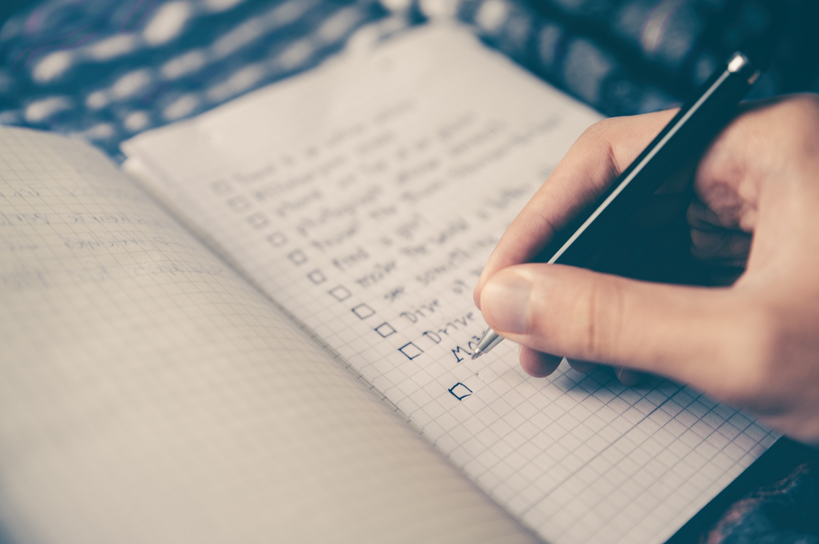 A checklist representing an IT evaluation checklist